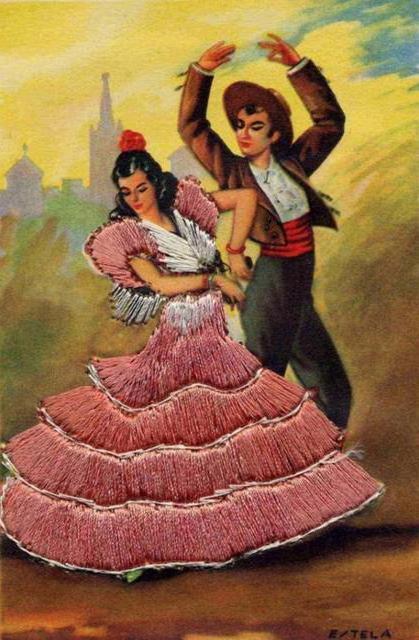 Испанский танец, танец