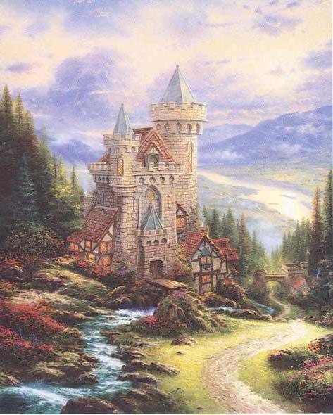 Старый замок, оригинал