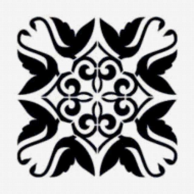 """Подушка """"Кельтский орнамент"""""""