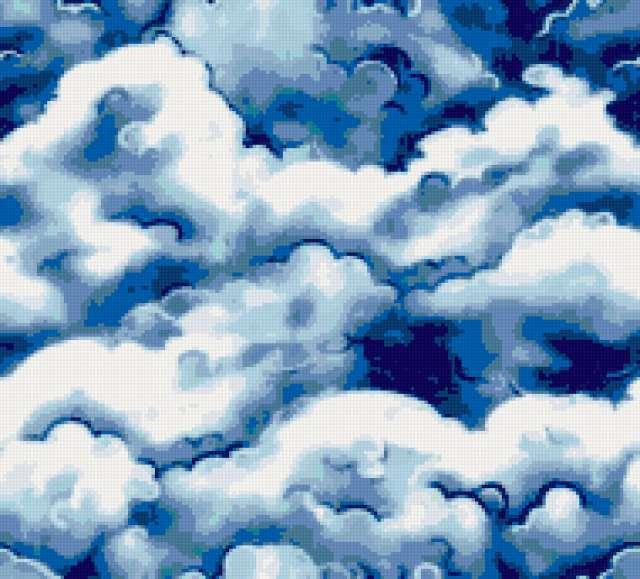 """Подушка """"облака"""", предпросмотр"""