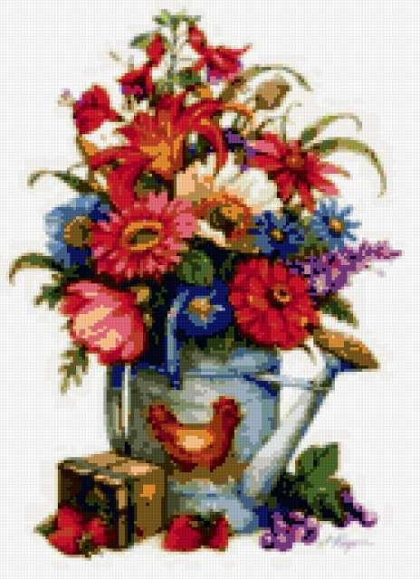 Садовые цветы, предпросмотр