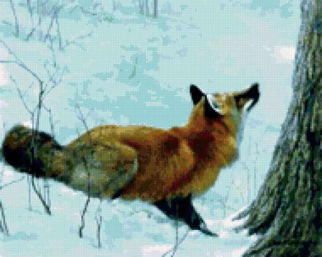 Охота лисы, предпросмотр