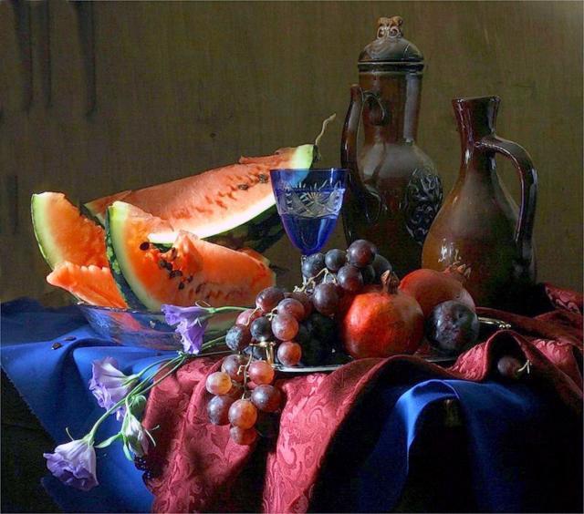 Вышивка крестом фрукты схемы