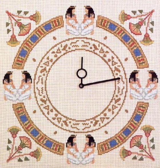 Часы в египетском стиле,