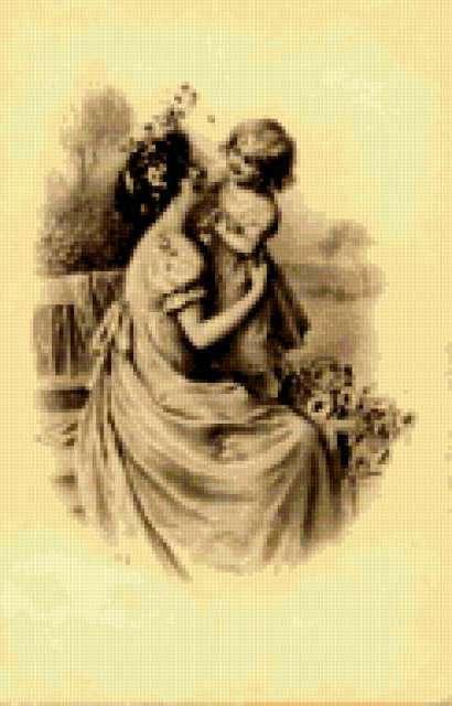 Мать и дитя, предпросмотр