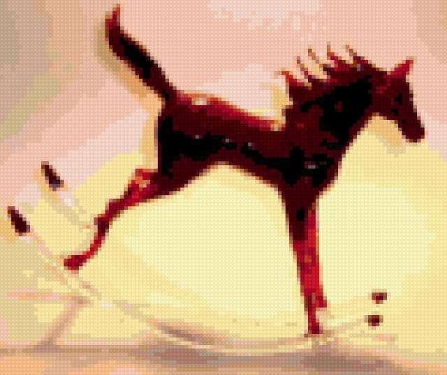 Лошадка-качалка=)