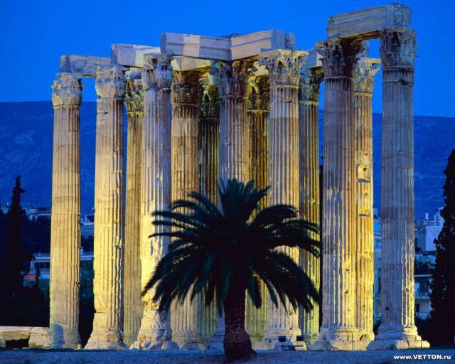 Греция, греция, колонны