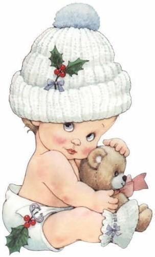 Малыш с мишкой, оригинал