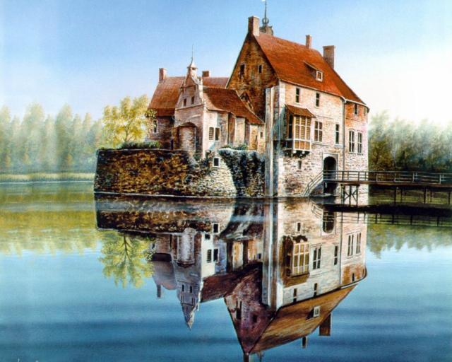 Красивый дом, оригинал