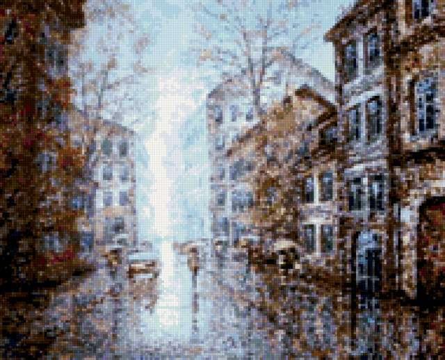Дождливый город, предпросмотр