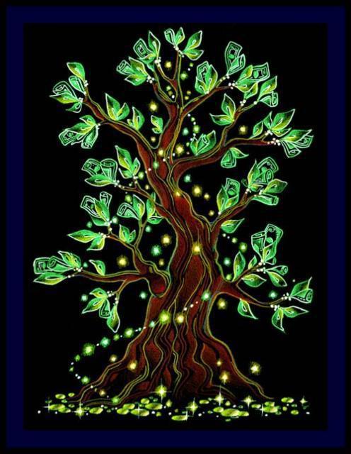 Денежное дерево оригинал