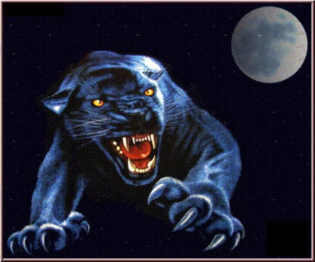 Оборотень-пантера,
