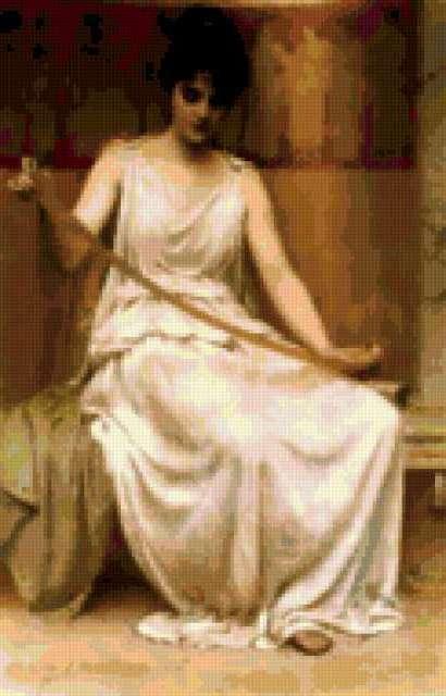 Античная девушка, предпросмотр