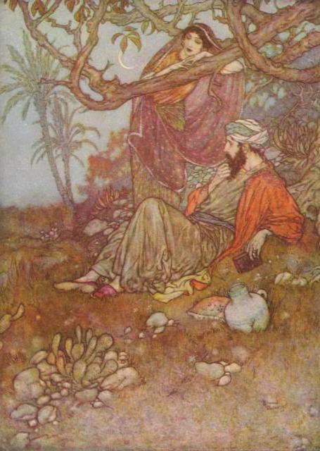 Арабские мотивы, картинка