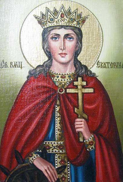 Святая Екатерина, икона