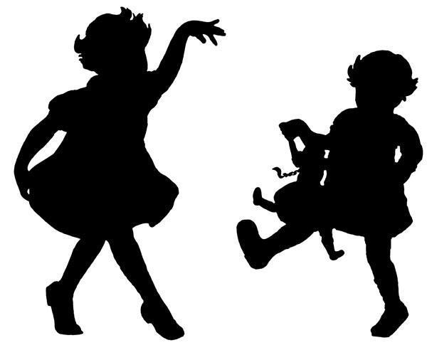 Схема вышивки «Танцующие дети»