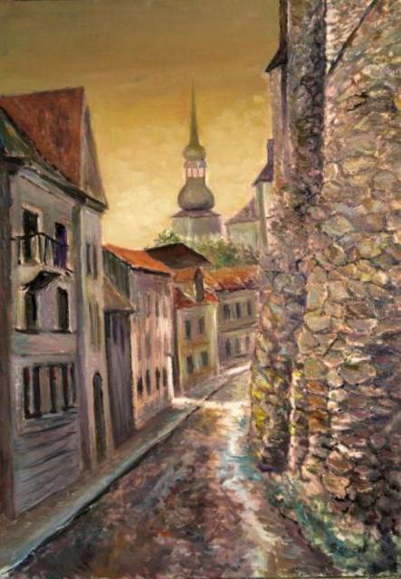 Старый таллин, город