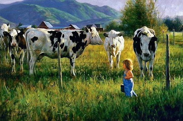 Коровы, оригинал