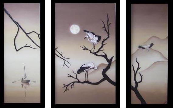 Японский триптих, оригинал