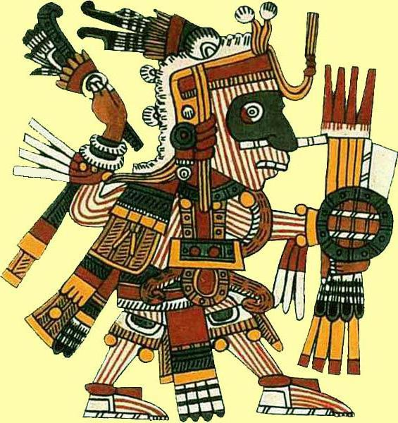 Майя. Божество охоты, майя,