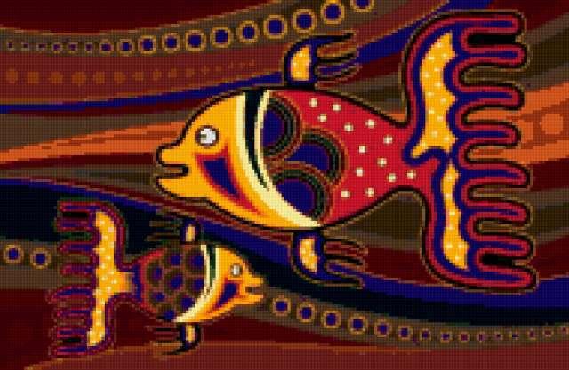 Этно - рыбки, предпросмотр