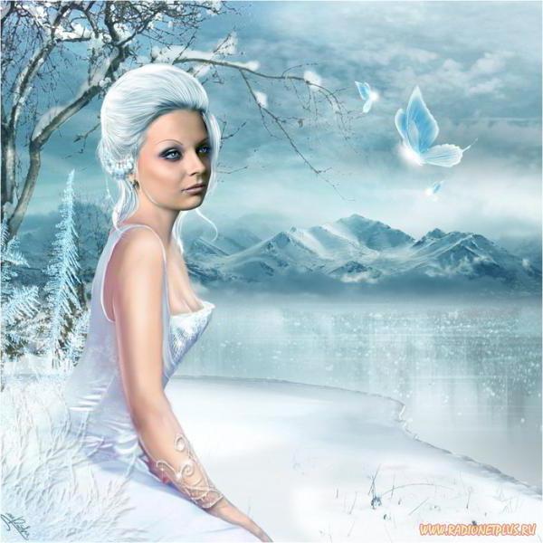 Девушка- зима, оригинал