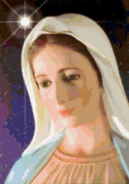католическая икона,