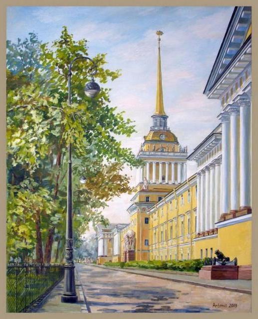 улица, адмиралтейство