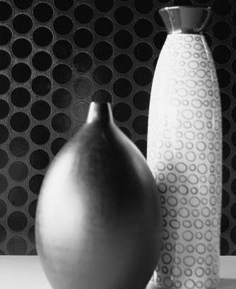 Чёрно-белый натюрморт, картина