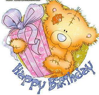 картинки с мишкой тедди с днем рождения
