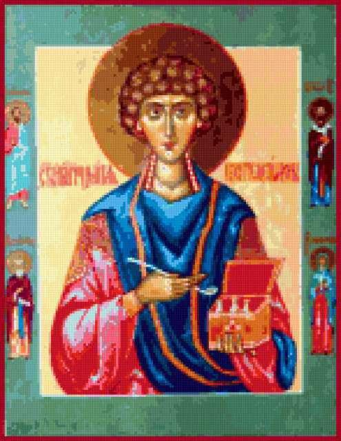 Св. Пантелеймон, икона