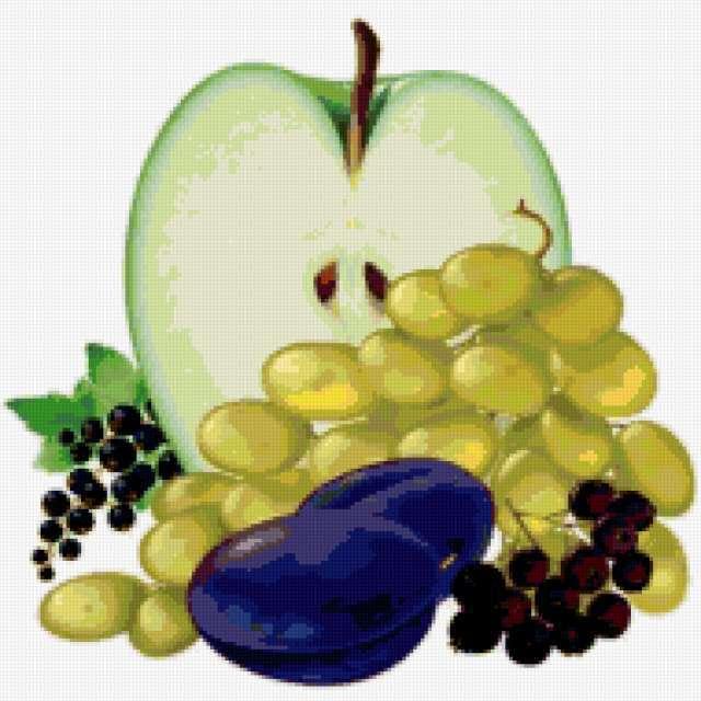 Фрукты, ягоды, фрукты, ягоды,