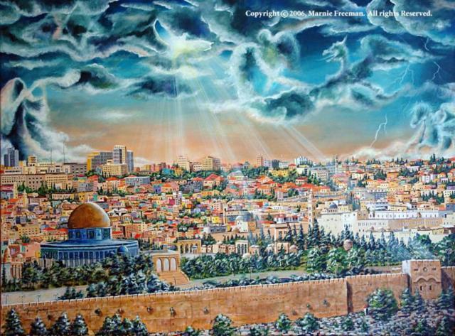 Jerusalem Painting - Old City,