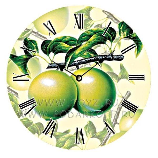 Схема вышивки «Часы на кухню»