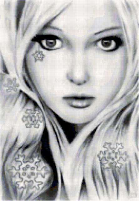 Девушка-зима, предпросмотр