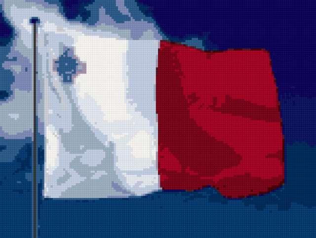 Мальтийский флаг, предпросмотр