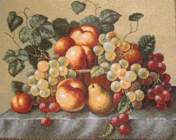 Натюрморт с персиками, персики