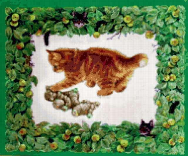 """Подушка """"котенок"""""""