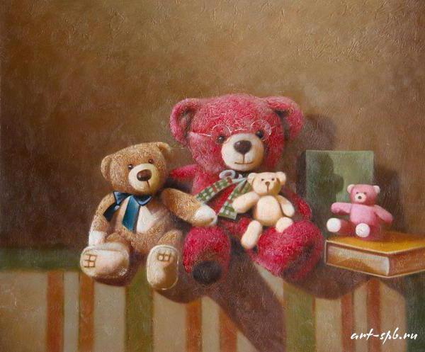 Семья медведей, оригинал