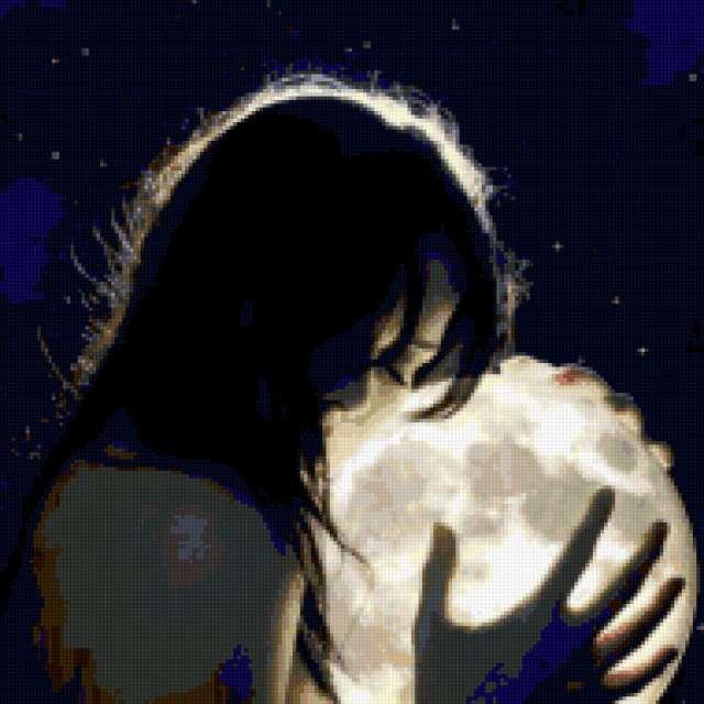 Девушка на луне, предпросмотр