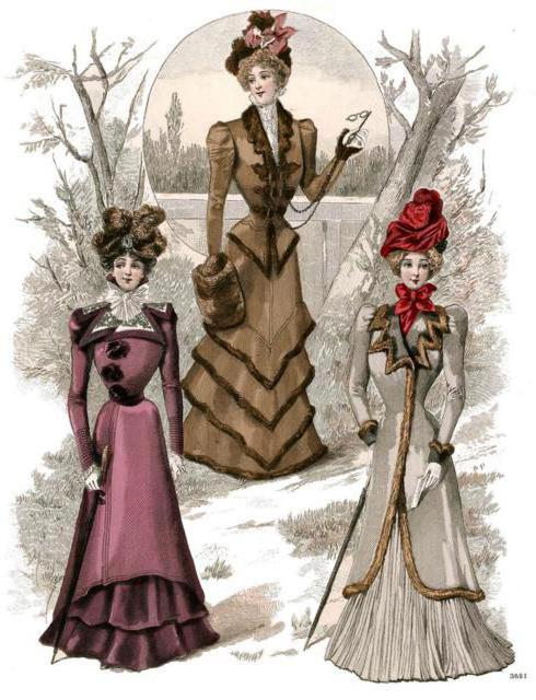 Дамочки. Мода, дамочки, дамы,