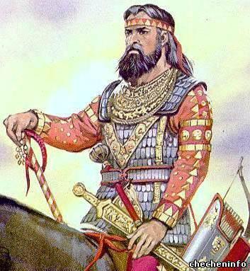 Скифский воин, оригинал
