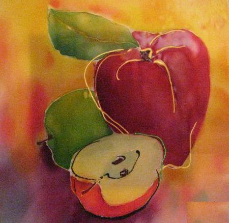 Натюрморт, фрукты, оригинал