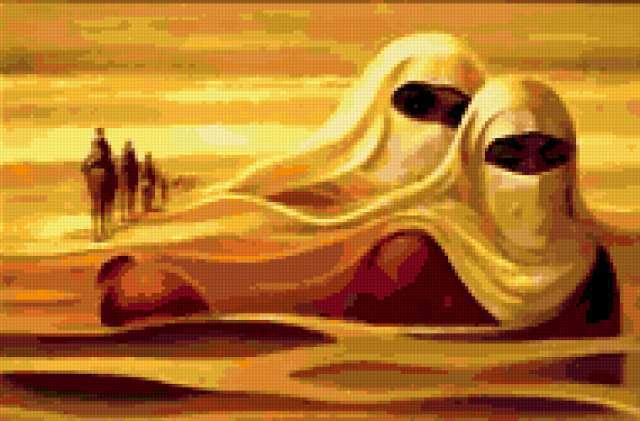 Духи пустыни, предпросмотр