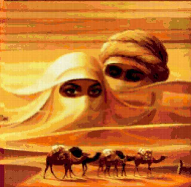 Духи пустыни - караван