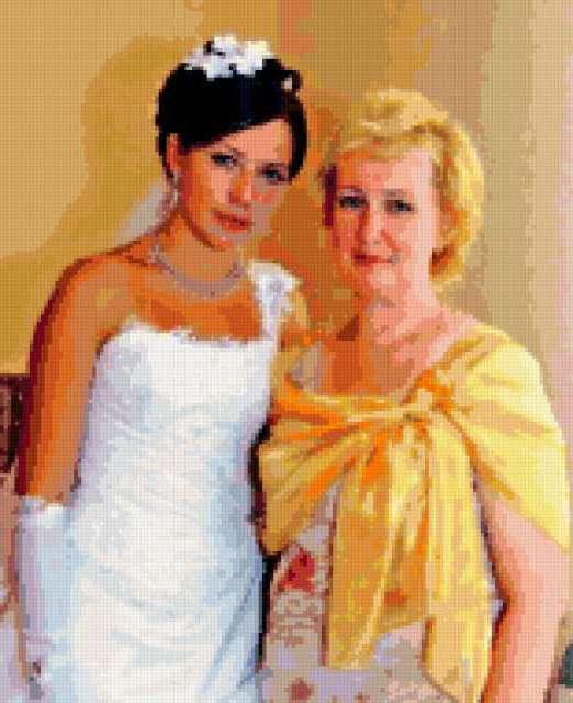 Мама и дочка, предпросмотр