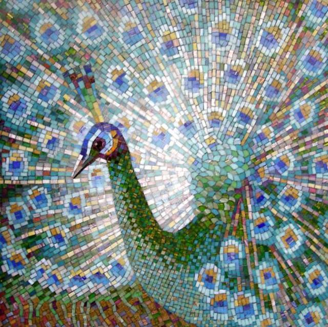 Павлин-мозаика, оригинал