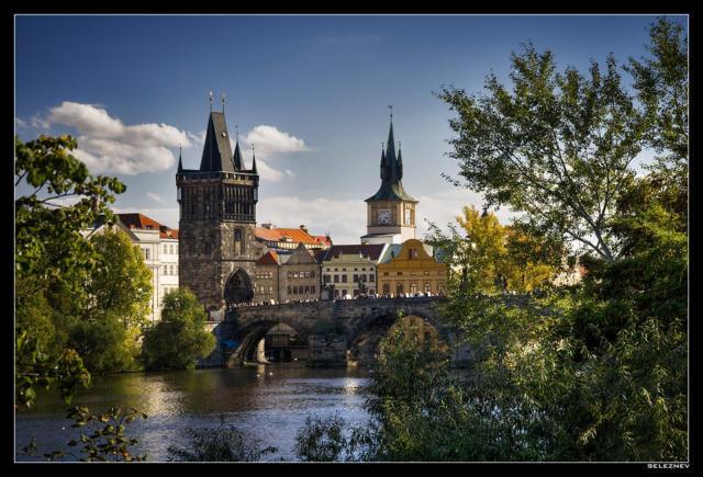 Прага, прага, город, старый