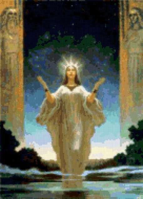 Лада-богиня весны и красоты,