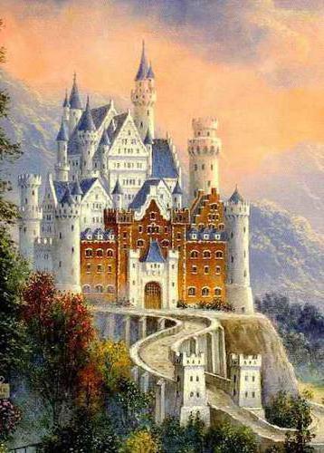 Сказочный замок, замок